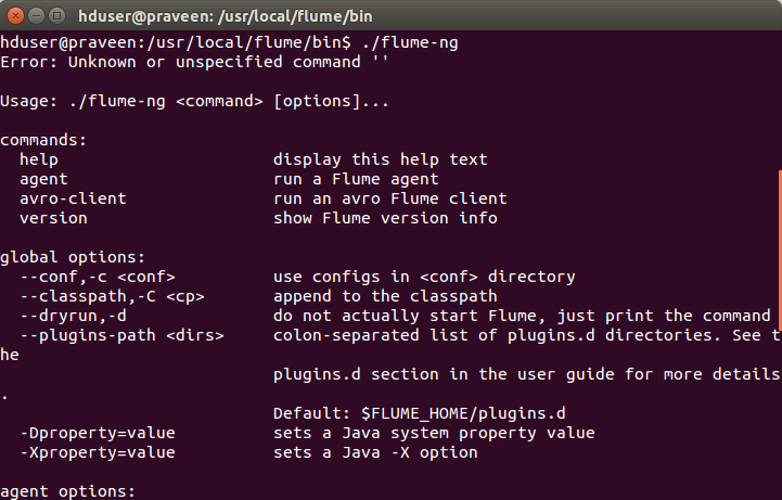 Apache Flume Installation on Ubuntu 14.04