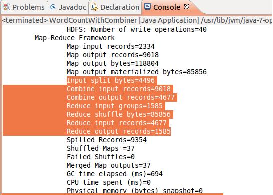 Apache Hadoop Combiner Java Example