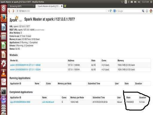 Apache Spark WordCount Java Example