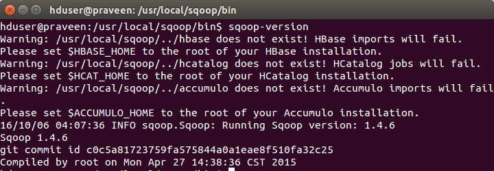Apache Sqoop Installation on Ubuntu 14.04
